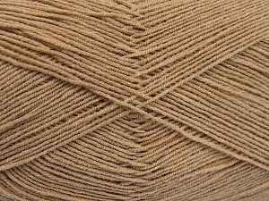 Fiber Content 55% Cotton, 45% Acrylic, Brand Ice Yarns, Beige, Yarn Thickness 1 SuperFine  Sock, Fingering, Baby, fnt2-65000