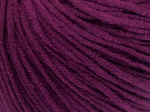 Fiber Content 50% Acrylic, 50% Cotton, Purple, Brand Ice Yarns, Yarn Thickness 3 Light  DK, Light, Worsted, fnt2-65003