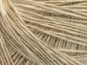 Fiber Content 56% Cotton, 22% Extrafine Merino Wool, 22% Baby Alpaca, Brand Ice Yarns, Cream, Yarn Thickness 3 Light  DK, Light, Worsted, fnt2-65011