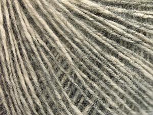 Fiber Content 56% Cotton, 22% Extrafine Merino Wool, 22% Baby Alpaca, Brand Ice Yarns, Dark Grey, Yarn Thickness 3 Light  DK, Light, Worsted, fnt2-65018