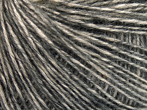 Fiber Content 56% Cotton, 22% Extrafine Merino Wool, 22% Baby Alpaca, Brand Ice Yarns, Anthracite Black, Yarn Thickness 3 Light  DK, Light, Worsted, fnt2-65021
