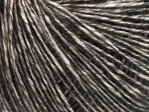 Fiber Content 56% Cotton, 22% Extrafine Merino Wool, 22% Baby Alpaca, Brand Ice Yarns, Dark Brown, Yarn Thickness 3 Light  DK, Light, Worsted, fnt2-65022