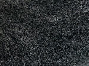 Fiber Content 50% Polyamide, 40% Baby Alpaca, 10% Merino Wool, Brand Ice Yarns, Dark Grey, Yarn Thickness 0 Lace  Fingering Crochet Thread, fnt2-65036