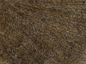 Fiber Content 50% Polyamide, 40% Baby Alpaca, 10% Merino Wool, Brand Ice Yarns, Brown, Yarn Thickness 0 Lace  Fingering Crochet Thread, fnt2-65038