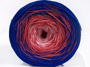 Fiber Content 50% Cotton, 50% Acrylic, Pink Shades, Brand Ice Yarns, Blue, Yarn Thickness 2 Fine  Sport, Baby, fnt2-65059