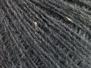 Fiber Content 50% Wool, 40% Acrylic, 10% Viscose, Brand Ice Yarns, Dark Grey, Yarn Thickness 2 Fine  Sport, Baby, fnt2-65089