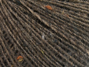 Fiber Content 50% Wool, 40% Acrylic, 10% Viscose, Brand Ice Yarns, Brown, Yarn Thickness 2 Fine  Sport, Baby, fnt2-65090