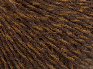 Fiber Content 85% Acrylic, 15% Wool, Brand Ice Yarns, Brown Shades, Yarn Thickness 2 Fine  Sport, Baby, fnt2-65129
