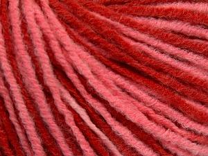 Fiber Content 50% Acrylic, 50% Wool, Red, Light Salmon, Brand Ice Yarns, fnt2-65138