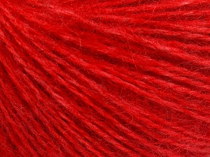 Fiber Content 50% Acrylic, 30% Mohair, 20% Wool, Red, Brand Ice Yarns, Yarn Thickness 3 Light  DK, Light, Worsted, fnt2-65177