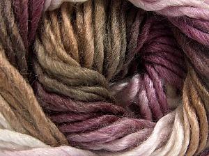 Fiber Content 50% Wool, 50% Acrylic, White, Maroon Shades, Brand Ice Yarns, Camel, Yarn Thickness 5 Bulky  Chunky, Craft, Rug, fnt2-65180