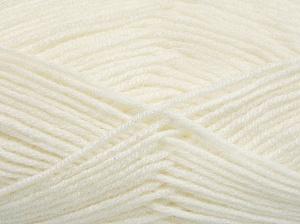 Fiber Content 50% Wool, 50% Acrylic, White, Brand Ice Yarns, Yarn Thickness 4 Medium Worsted, Afghan, Aran, fnt2-65185
