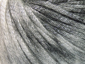 Fiber Content 62% Polyester, 19% Acrylic, 19% Merino Wool, Brand Ice Yarns, Grey Shades, Black, Yarn Thickness 4 Medium  Worsted, Afghan, Aran, fnt2-65211