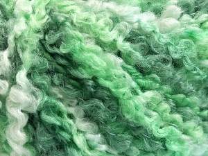 Fiber Content 55% Acrylic, 35% Wool, 10% Polyamide, Brand Ice Yarns, Green Shades, Yarn Thickness 5 Bulky  Chunky, Craft, Rug, fnt2-65223