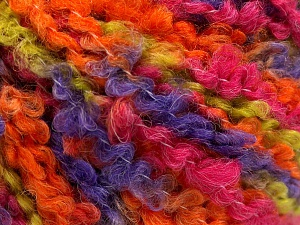 Fiber Content 55% Acrylic, 35% Wool, 10% Polyamide, Purple, Orange, Brand Ice Yarns, Green, Fuchsia, Yarn Thickness 5 Bulky  Chunky, Craft, Rug, fnt2-65225