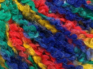 Fiber Content 55% Acrylic, 35% Wool, 10% Polyamide, Yellow, Orange, Navy, Brand Ice Yarns, Green, Yarn Thickness 5 Bulky  Chunky, Craft, Rug, fnt2-65226