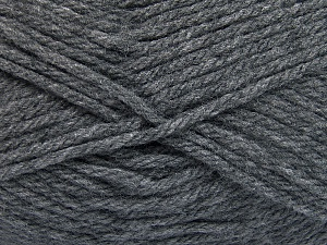 Fiber Content 100% Acrylic, Brand Ice Yarns, Dark Grey, Yarn Thickness 5 Bulky  Chunky, Craft, Rug, fnt2-65373