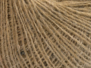 Fiber Content 50% Wool, 40% Acrylic, 10% Viscose, Brand Ice Yarns, Dark Camel, Yarn Thickness 2 Fine  Sport, Baby, fnt2-65447