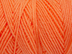 Items made with this yarn are machine washable & dryable. Fiber Content 100% Dralon Acrylic, Neon Orange, Brand Ice Yarns, Yarn Thickness 4 Medium  Worsted, Afghan, Aran, fnt2-65500