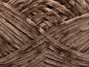 Fiber Content 100% Micro Fiber, Brand Ice Yarns, Brown, Yarn Thickness 3 Light  DK, Light, Worsted, fnt2-65515