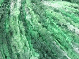Fiber Content 40% Acrylic, 40% Wool, 20% Polyamide, Brand Ice Yarns, Green Shades, Yarn Thickness 4 Medium  Worsted, Afghan, Aran, fnt2-65529