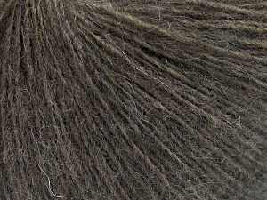 Fiber Content 50% Wool, 50% Acrylic, Brand Ice Yarns, Dark Camel, Yarn Thickness 2 Fine  Sport, Baby, fnt2-65545
