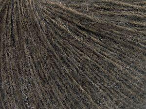 Fiber Content 50% Wool, 50% Acrylic, Brand Ice Yarns, Dark Camel, Yarn Thickness 2 Fine  Sport, Baby, fnt2-65545