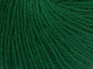 Fiber Content 40% Acrylic, 40% Merino Wool, 20% Polyamide, Brand Ice Yarns, Dark Green, Yarn Thickness 2 Fine  Sport, Baby, fnt2-65575