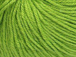Fiber Content 40% Acrylic, 40% Merino Wool, 20% Polyamide, Light Green, Brand Ice Yarns, Yarn Thickness 2 Fine  Sport, Baby, fnt2-65577