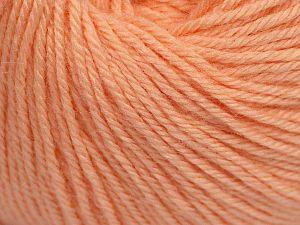 Fiber Content 40% Acrylic, 40% Merino Wool, 20% Polyamide, Light Salmon, Brand Ice Yarns, Yarn Thickness 2 Fine  Sport, Baby, fnt2-65587