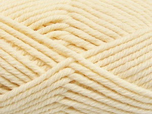 Fiber Content 50% Acrylic, 50% Wool, Brand Ice Yarns, Cream, Yarn Thickness 6 SuperBulky  Bulky, Roving, fnt2-65604
