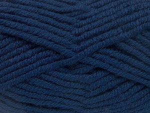Fiber Content 50% Acrylic, 50% Wool, Brand Ice Yarns, Dark Blue, Yarn Thickness 6 SuperBulky  Bulky, Roving, fnt2-65607