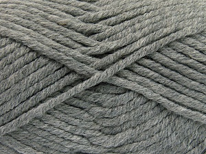 Fiber Content 50% Acrylic, 50% Wool, Brand Ice Yarns, Grey, Yarn Thickness 6 SuperBulky  Bulky, Roving, fnt2-65609