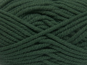 Fiber Content 50% Acrylic, 50% Wool, Brand Ice Yarns, Dark Green, Yarn Thickness 6 SuperBulky  Bulky, Roving, fnt2-65614