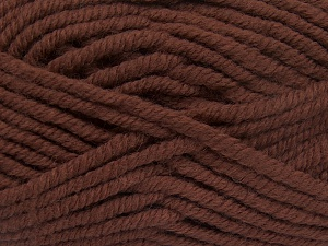 Fiber Content 50% Acrylic, 50% Wool, Brand Ice Yarns, Brown, Yarn Thickness 6 SuperBulky  Bulky, Roving, fnt2-65622