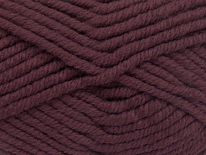 Fiber Content 50% Acrylic, 50% Wool, Rose Brown, Brand Ice Yarns, Yarn Thickness 6 SuperBulky  Bulky, Roving, fnt2-65624
