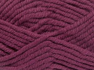 Fiber Content 50% Acrylic, 50% Wool, Brand Ice Yarns, Fuchsia, Yarn Thickness 6 SuperBulky  Bulky, Roving, fnt2-65625