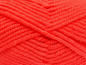 Fiber Content 50% Acrylic, 50% Wool, Brand Ice Yarns, Dark Salmon, Yarn Thickness 6 SuperBulky  Bulky, Roving, fnt2-65631