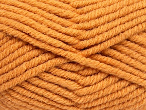 Fiber Content 50% Acrylic, 50% Wool, Brand Ice Yarns, Gold, Yarn Thickness 6 SuperBulky  Bulky, Roving, fnt2-65634