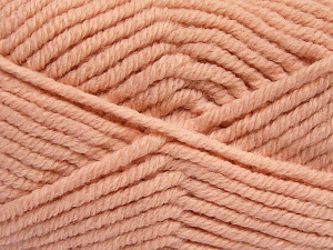 Fiber Content 50% Acrylic, 50% Wool, Light Salmon, Brand Ice Yarns, Yarn Thickness 6 SuperBulky  Bulky, Roving, fnt2-65637