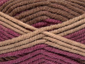 Fiber Content 50% Acrylic, 50% Wool, Purple, Brand Ice Yarns, Brown Shades, Yarn Thickness 6 SuperBulky  Bulky, Roving, fnt2-65643