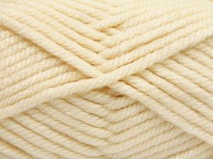 Fiber Content 75% Acrylic, 25% Superwash Wool, Brand Ice Yarns, Cream, Yarn Thickness 6 SuperBulky  Bulky, Roving, fnt2-65684