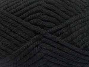 Fiber Content 75% Acrylic, 25% Superwash Wool, Brand Ice Yarns, Black, Yarn Thickness 6 SuperBulky  Bulky, Roving, fnt2-65685