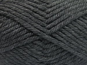 Fiber Content 75% Acrylic, 25% Superwash Wool, Brand Ice Yarns, Dark Grey, Yarn Thickness 6 SuperBulky  Bulky, Roving, fnt2-65686
