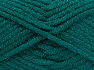 Fiber Content 75% Acrylic, 25% Superwash Wool, Brand Ice Yarns, Emerald Green, Yarn Thickness 6 SuperBulky  Bulky, Roving, fnt2-65693