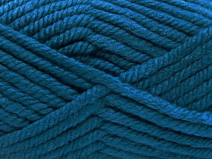 Fiber Content 75% Acrylic, 25% Superwash Wool, Turquoise, Brand Ice Yarns, Yarn Thickness 6 SuperBulky  Bulky, Roving, fnt2-65699