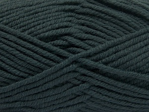 Fiber Content 70% Acrylic, 30% Wool, Brand Ice Yarns, Dark Green, Yarn Thickness 5 Bulky  Chunky, Craft, Rug, fnt2-65718