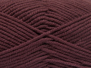 Fiber Content 70% Acrylic, 30% Wool, Rose Brown, Brand Ice Yarns, Yarn Thickness 5 Bulky  Chunky, Craft, Rug, fnt2-65719