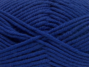 Fiber Content 70% Acrylic, 30% Wool, Brand Ice Yarns, Blue, Yarn Thickness 5 Bulky  Chunky, Craft, Rug, fnt2-65721