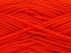 Fiber Content 70% Acrylic, 30% Wool, Orange, Brand Ice Yarns, Yarn Thickness 5 Bulky  Chunky, Craft, Rug, fnt2-65722